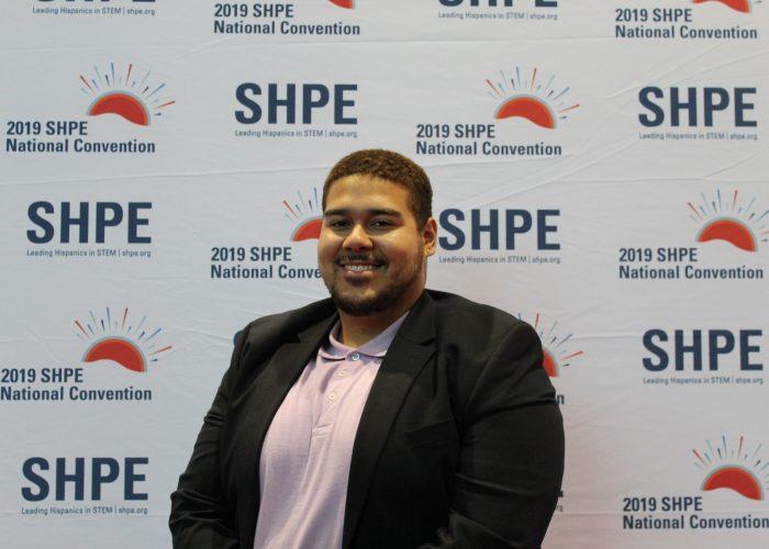 Jose Kuilan at SHPE Conference