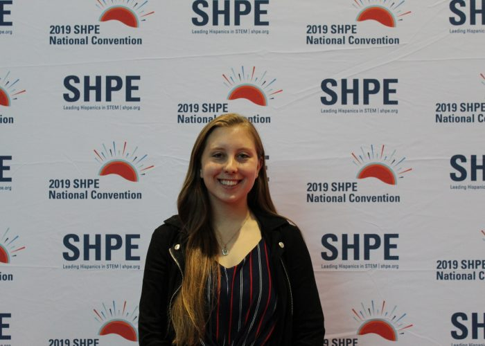 Cheyenne Dibble at SHPE Conference