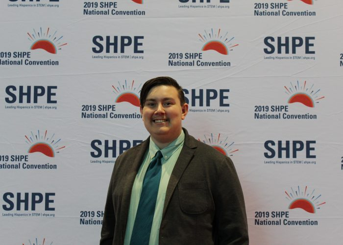 Alex DaSilva at SHPE Conference