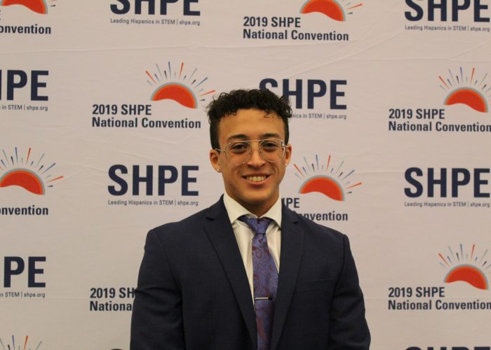 Zach Ryan at SHPE Conference